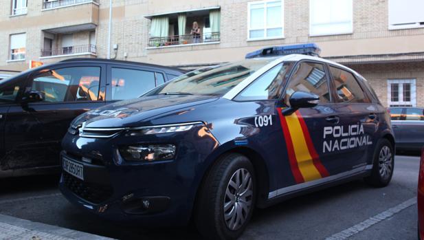 Una fotografía de archivo de un coche de la Policía Nacional