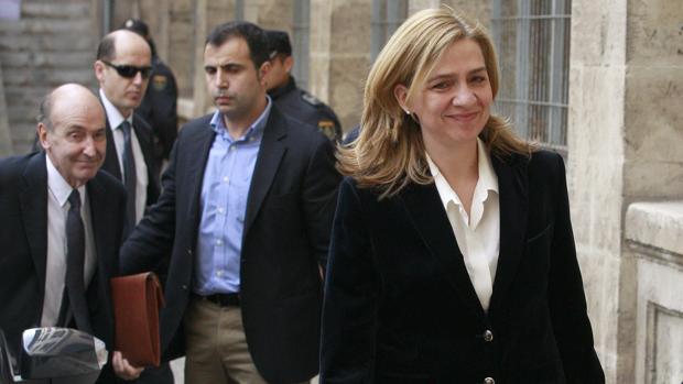 Doña Cristina en una imagen de archivo