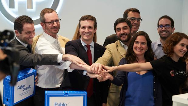 La diputada Belén Hoyo se suma a los apoyos a Pablo Casado para presidir el PP