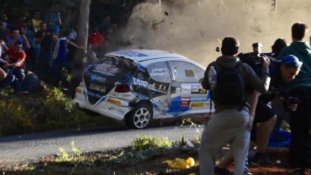 Accidente mortal en La Coruña en 2015