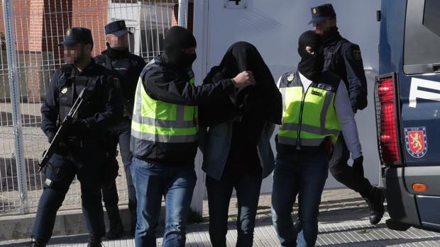 Un supuesto yihadista es detenido en España en una iamgen de archivo