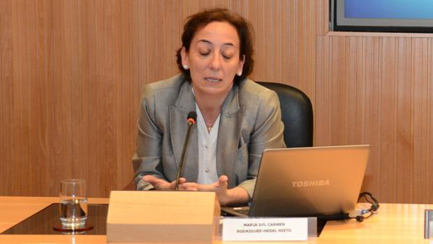 La juez que instruye el caso máster en Madrid, Carmen Rodríguez-Medel, en imagen de archivo