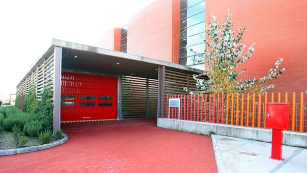 Entrada a Urgencias en el Hospital Universitario Río Hortega de Valladolid