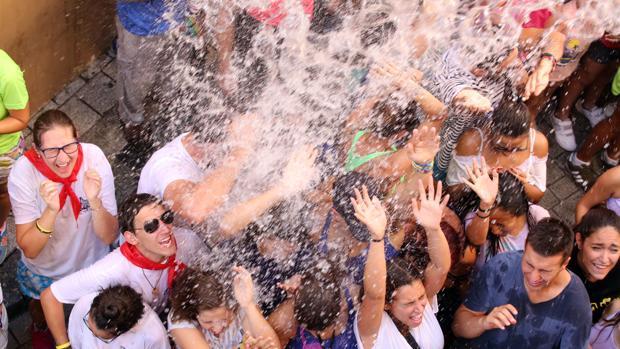 Fiesta del Chúndara en la localidad vallisoletana de Peñafiel
