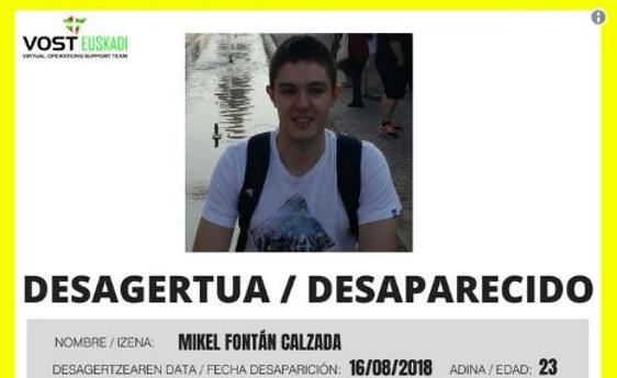 Hallan en un acantilado de Vizcaya el cadáver del joven de Baracaldo desparecido desde el viernes