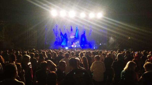 Uno de los conciertos programados dentro de la Feria de San Julián