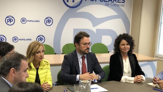 Australia Navarro, Asier Antona y Matilde Asián