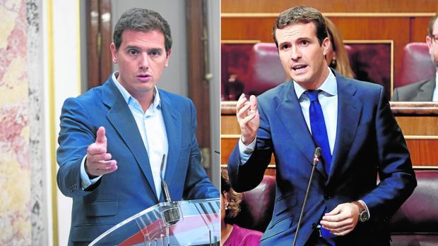 PP y Cs estrechan el cerco sobre Sánchez para que aclare su tesis