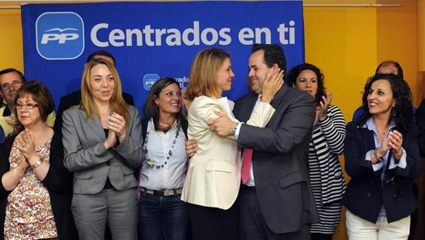 Cospedal y Núñez en una imagen de archivo