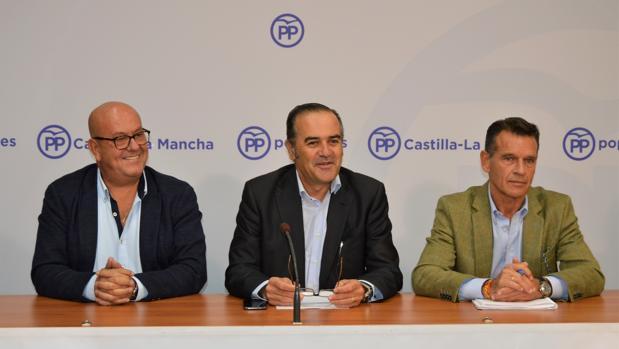 Emilio Bravo, José Julián Gregorio y José López Gamarra