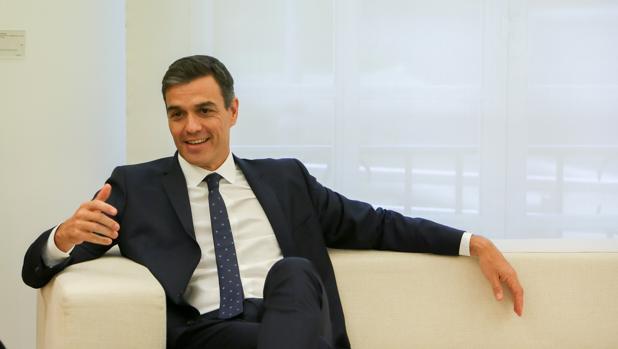 Pedro Sánchez esta semana en La Moncloa