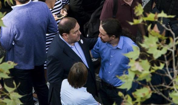 Iglesias tratará de convencer a Junqueras de que Sánchez en Moncloa favorece su libertad