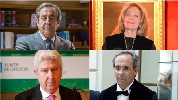 Zaragoza, Madrigal, Cadena y Moreno, los cuatro fiscales de la causa del «procés»
