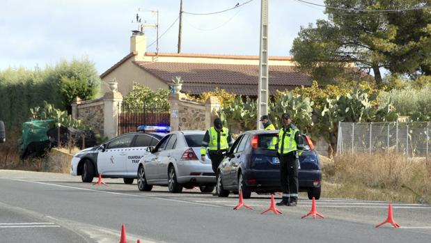 Los controles en carreteras secundarias de la provincia se intensificarán hasta el domingo