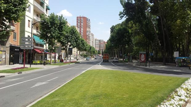 Avenida de España en Albacete