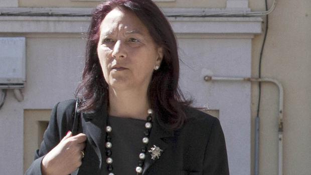 La concejal del PSOE de Soria Lourdes Andrés