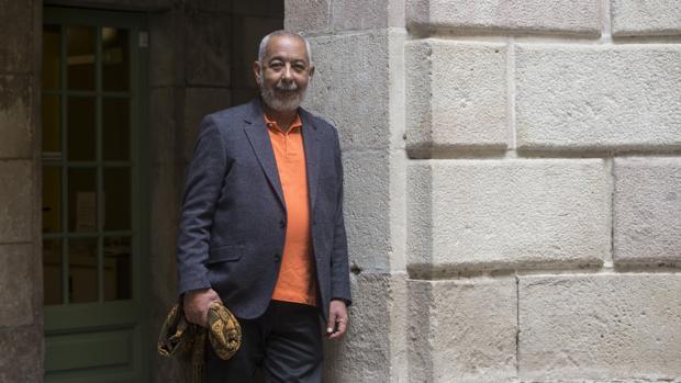 Leonardo Padura, fotografiado en Barcelona
