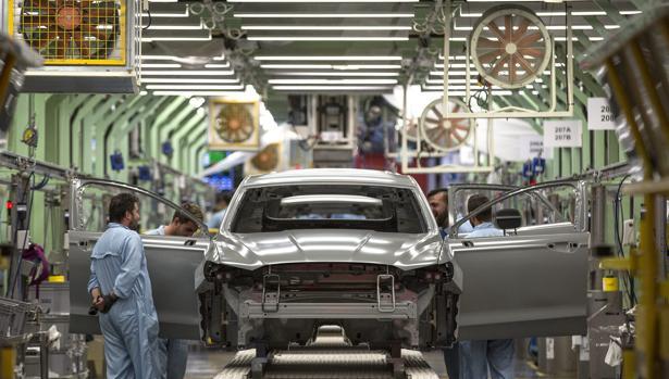 Imagen de archivo de las instalaciones de la factoría de Ford en Almussafes