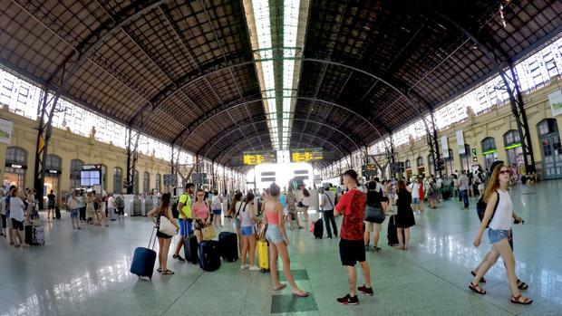 Estación del Norte de Valencia, en una imagen de archivo