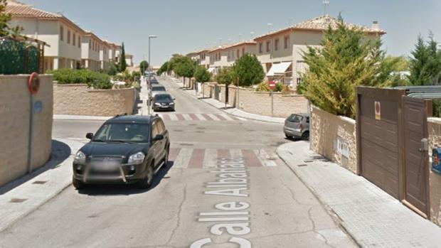 Calle donde se produjo el tiroteo