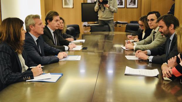 Reunión entre el vicepresidente de la Xunta y el embajador de España ante la UE, hoy en Bruselas