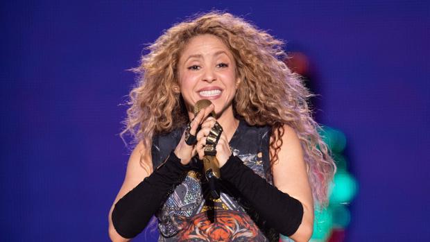 Shakira, en una actuación en Hamburgo (Alemania) el pasado mes de junio