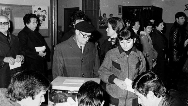 El referendum sobre la Constitución en Genora, en 1978