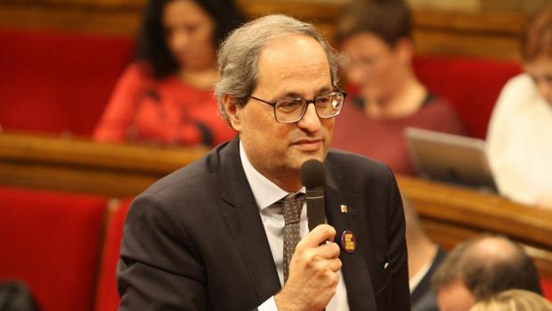El Parlamento de Cataluña en un pleno reciente