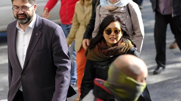 Rommy Arce, a su llegada a los juzgados el pasado mayo