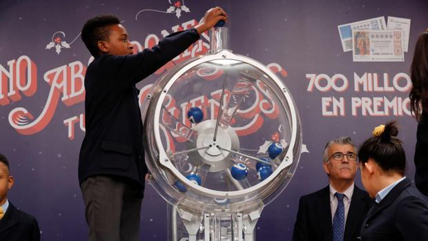 Imagen del Sorteo de la Lotería del Niño de 2019