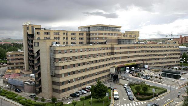 Hospital de Salamanca, en una imagen de archivo