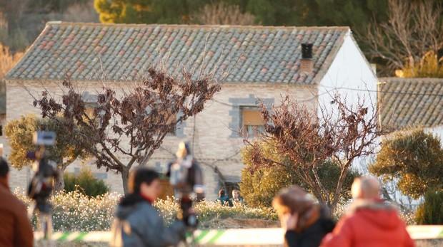 casaVivienda de Fuentes de Ebro (Zaragoza) en la que han ocurrido los hechos