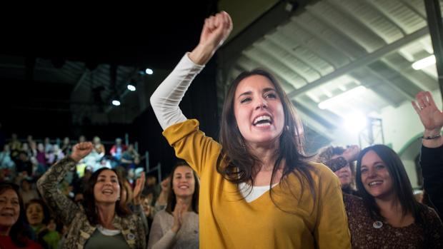 Irene Montero, portavoz de Podemos