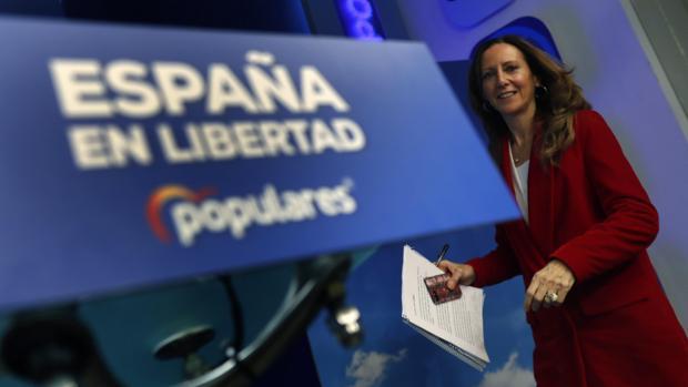 La vicesecretaria de Comunicación del PP, Marta González