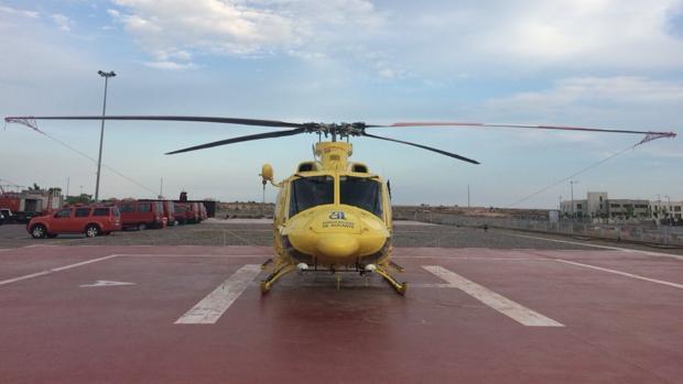 Helicóptero para rescates del Consorcio Provincial de Bomberos de Alicante