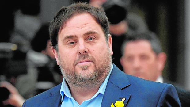 El exvicepresidente catalán, Oriol Junqueras