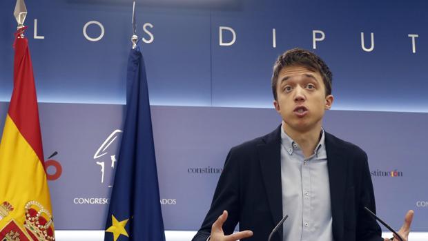 Íñigo Errejón, exdiputado de Podemos