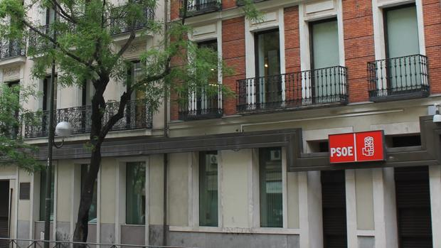 Sede del PSOE en la madrileña calle Ferraz