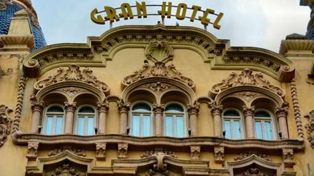 Fachada del Gran Hotel de Albacete