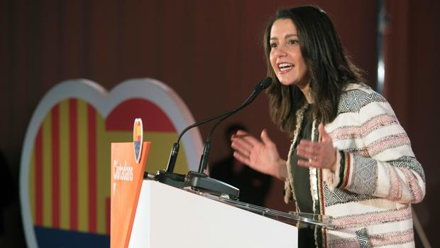 Inés Arrimadas, líder de Ciudadanos