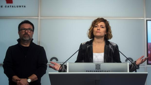 Joan Josep Nuet y Elisenda Alamany