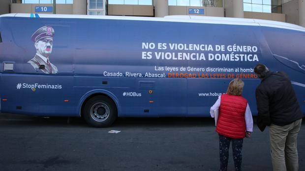 Autobús de HazteOír, en Madrid