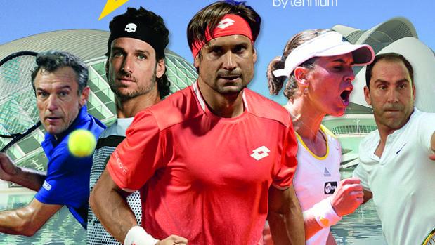 Imagen del cartel de la Senior Masters Cup de Valencia