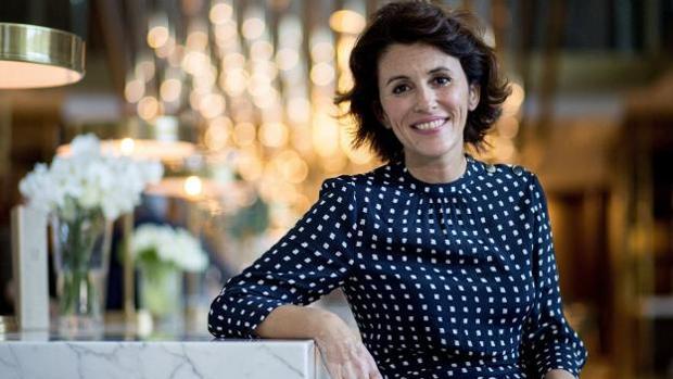 La escritora y periodista Ayanta Barilli, hija de Fernando Sánchez Dragó