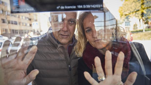 Isidro Molina y Rosa Sánchez, los padres de Paco Molina, que desapareció hace 4 años sin dejar rastro