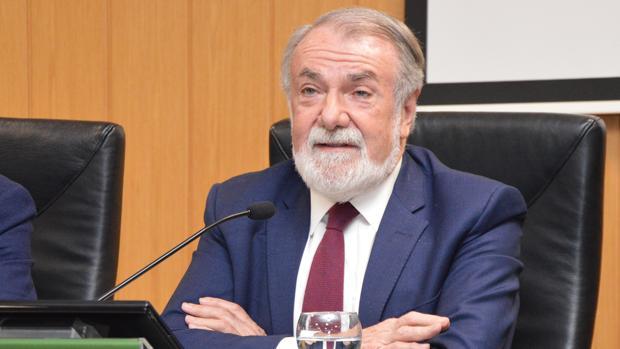 Jaime Mayor Oreja, este martes en la presentación de un libro en Valencia