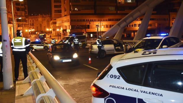 Controles de tráfico de la Policía Local en Valencia esta semana