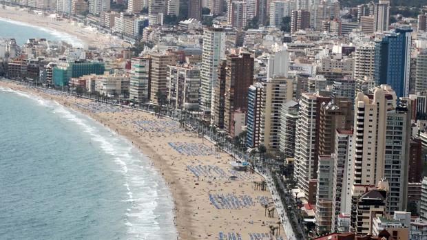 Imagen de la playa de Levante