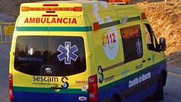 El herido ha sido trasladado al hospital de Alcázar de San Juan