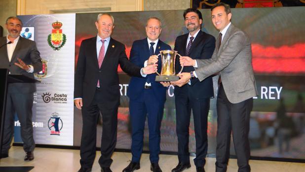 Presentación de la Copa del Rey de balonmano en Alicante